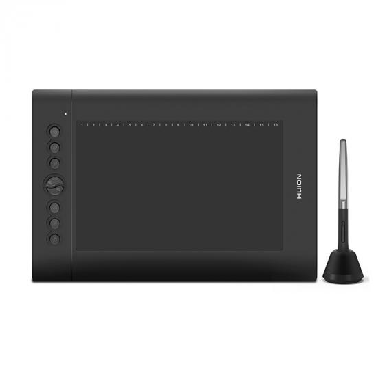 Huion H610 PRO Graphic Drawing Painting Tablet 8192 Pen Pressure 10×6.25/'/' US