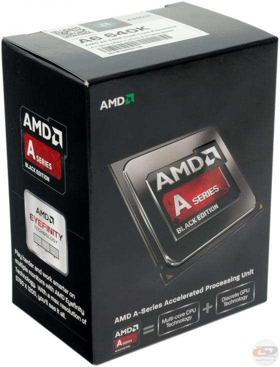 AMD A6-6400K Richland 3.9GHz Socket FM2 65W Dual-Core Desktop Processor