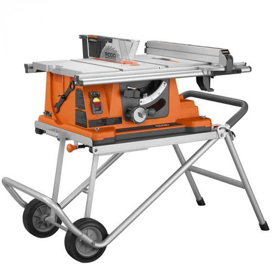 Ridgid R4510 Heavy-Duty Portable Table Saw