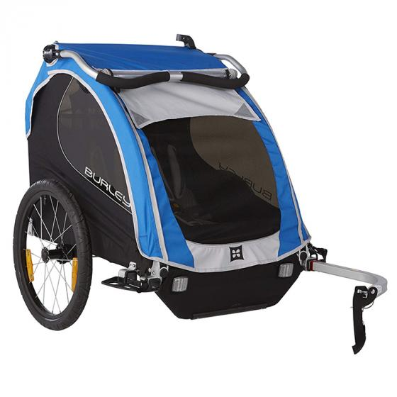 Burley Design Encore Child Bike Trailer, Blue