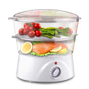Dwell 4.5 Quart Electronic Food Steamer Cooker