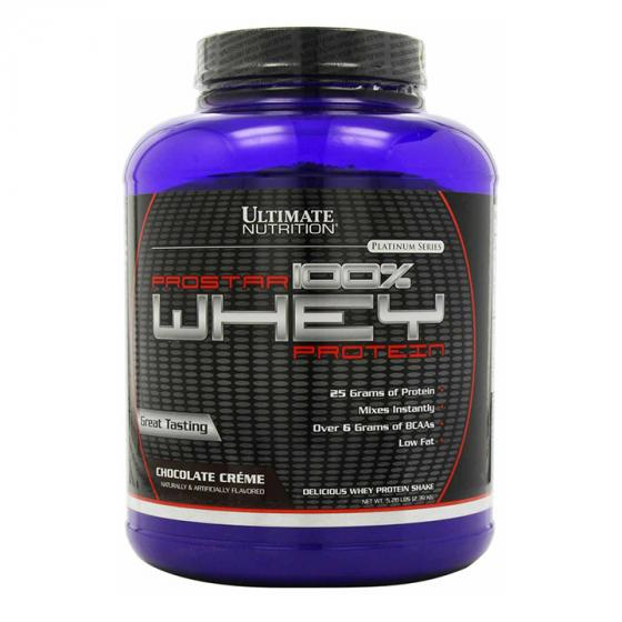 Ultimate Nutrition Prostar 100% Whey Protein Powder - Low Carb