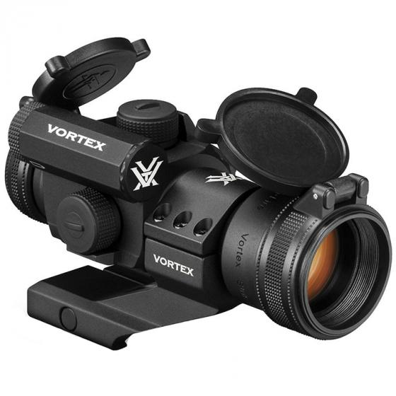 Vortex StrikeFire 2 (SF-RG-501) Cantilever Mount Red/Green Dot Scope with Vortex Optics Hat