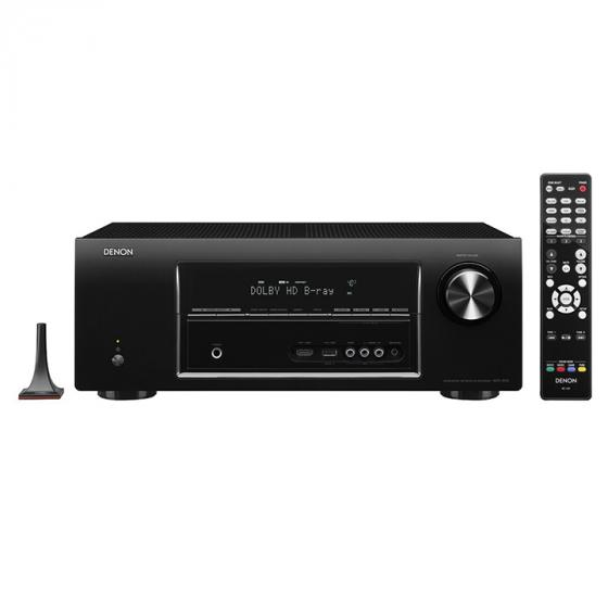 Denon AVR-1913 7.1 Channel 3D Pass Through and Networking Home Theater AV Receiver