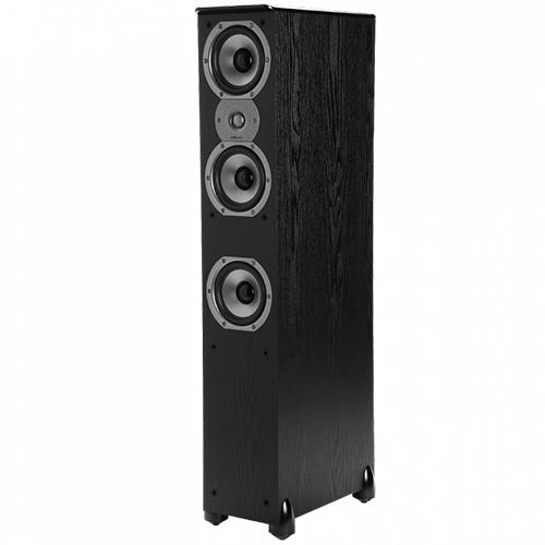 Polk Audio TSi400 Floorstanding Speaker (Single, Black)