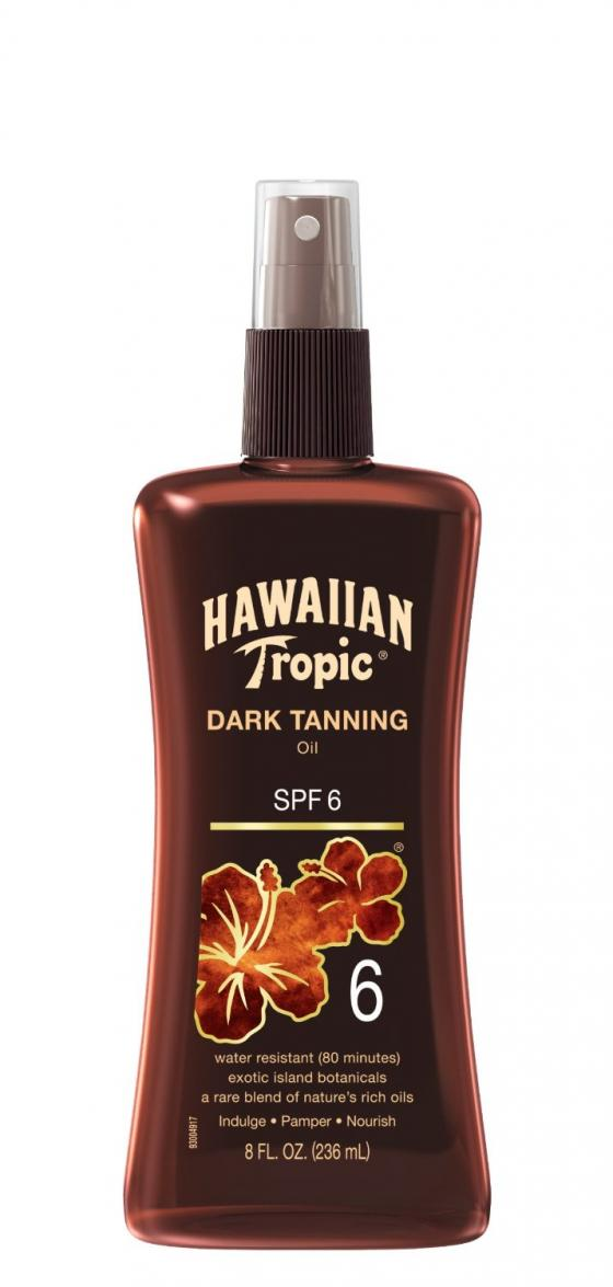 Hawaiian Tropic Dark Tanning Sun Care Sunscreen Spray