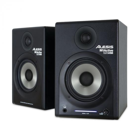 Alesis M1 Active 520USB Nearfield Studio Monitors with USB Audio Interface