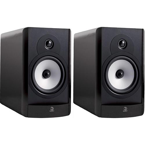 Boston Acoustics A26 Two-Way Bookshelf Speaker with 6.5-Inch Woofer (Each, Gloss Black)