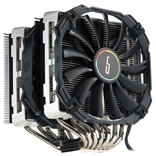Cryorig R1 Universal (CR-R1B) Dual Tower CPU Heatsink with XF140 and Xt140 fans