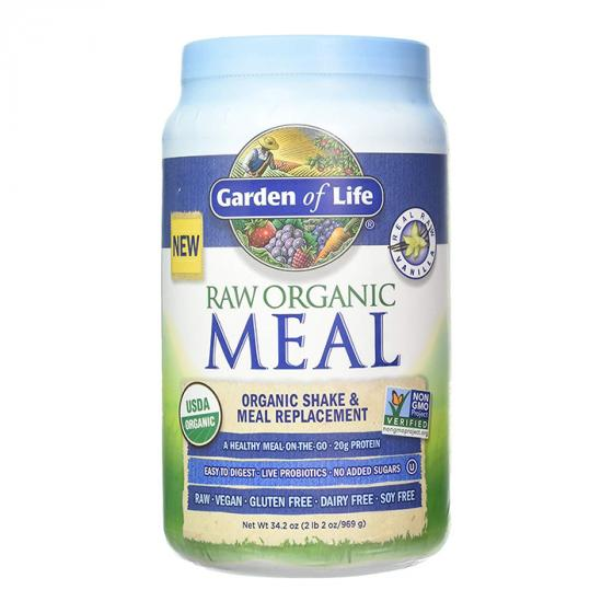 Garden of Life Raw Organic Meal Shake, Potassium 70 mg & Meal Replacement