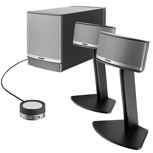 Bose Companion 5 Multimedia Speaker System – Graphite/Silver