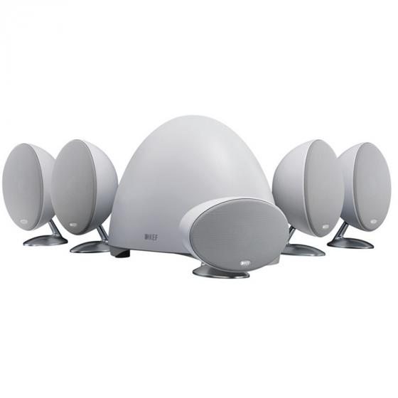 KEF E305 5.1-Channel Speaker System - White