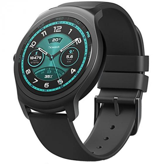 Ticwatch 2 Active Silky Smooth Smartwatch - Charcoal