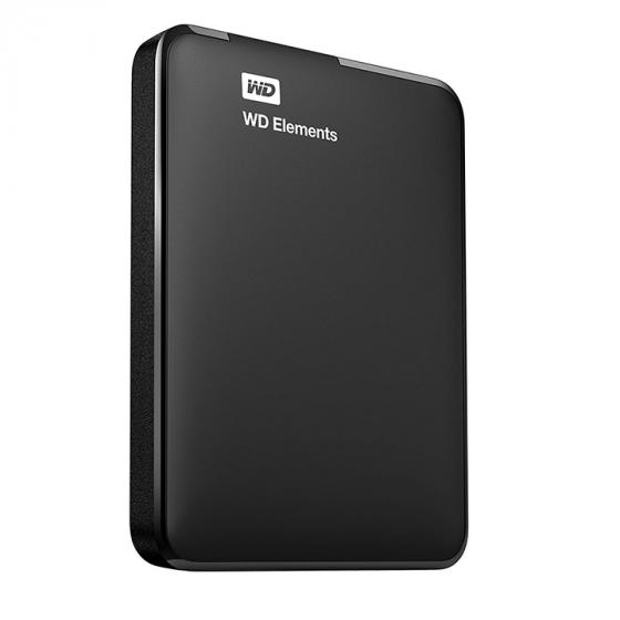 Western Digital Elements 1TB (WDBUZG0010BBK-WESN) External Hard Drive - USB 3.0