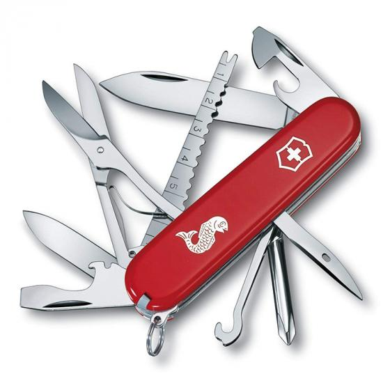 Victorinox Fisherman Swiss Army Knife, Red (1473372)
