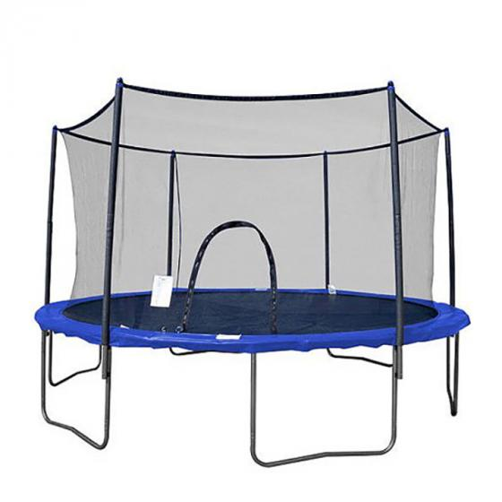Airzone 12' Trampoline with Safety Enclosure, Blue