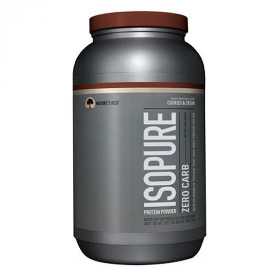 Isopure Zero Carb Keto Friendly Protein Powder, 100% Whey Protein Isolate