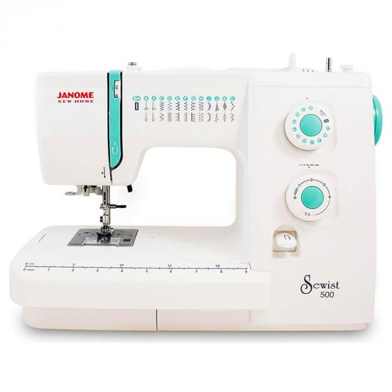Janome Sewist 500 Sewing Machine with 25 Built-In Stitches