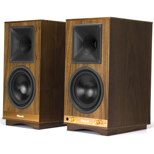 Klipsch The Sixes Powered Monitor – Walnut Veneer (Pair)