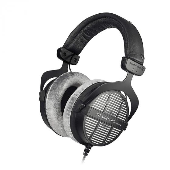 beyerdynamic DT 990 Pro Over-Ear Studio Monitor Headphones (80 Ohm, Grey)
