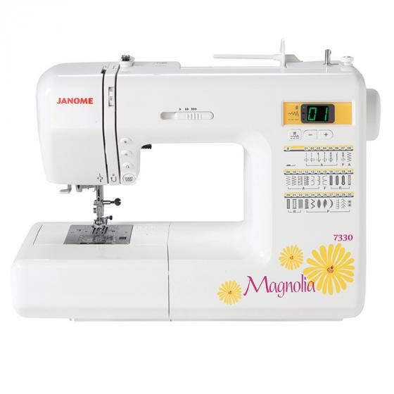 Janome Magnolia 7330 Sewing Machine w/5 - Piece Bonus Kit