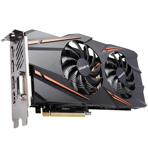 Gigabyte GeForce GTX 1070 WINDFORCE OC 8G REV2.0 Graphic Cards (GV-N1070WF2OC-8GD REV2.0)