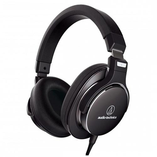 Audio-Technica ATH-MSR7 SonicPro Over-Ear High-Resolution Audio Headphones, Black