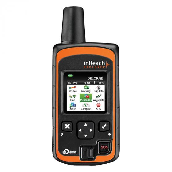 Delorme InReach Explorer Satellite Communicator with Built in Navigation