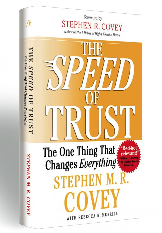 the speed of trust book report