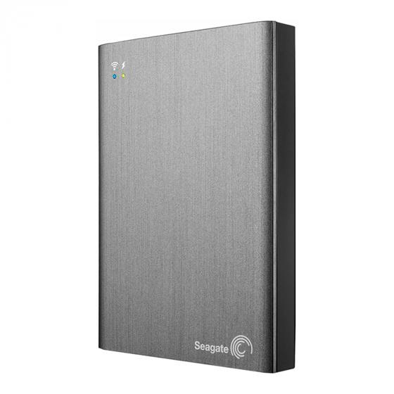 Seagate Wireless Plus 1TB Portable Hard Drive with Built-in WiFi