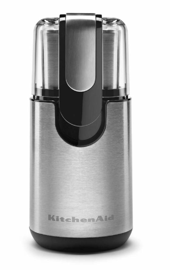 KitchenAid BCG111OB Blade Coffee Grinder, Onyx Black