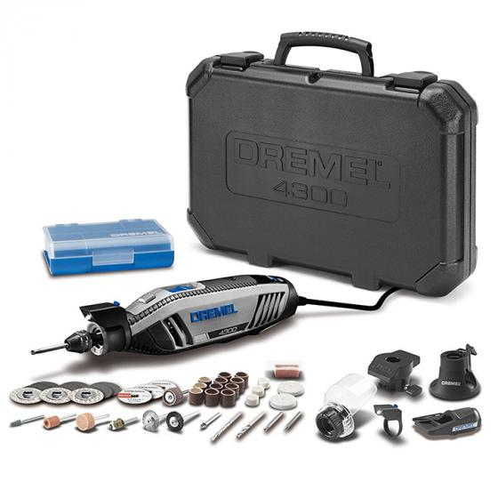 Dremel 4000-4//50 High Performance Rotary TOOL KIT-4 attachments 50 accessories