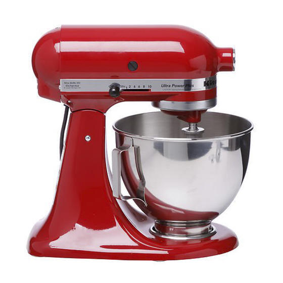 KitchenAid KSM100PSER UltraPower Plus Stand Mixer