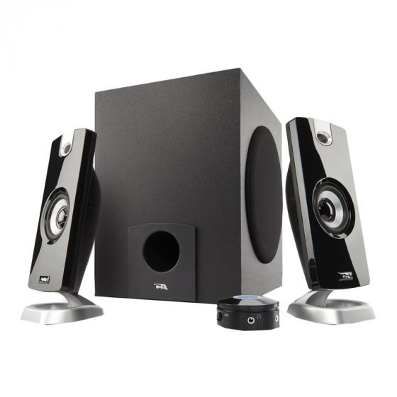 Cyber Acoustics CA-3080 18W Computer Speakers with Subwoofer