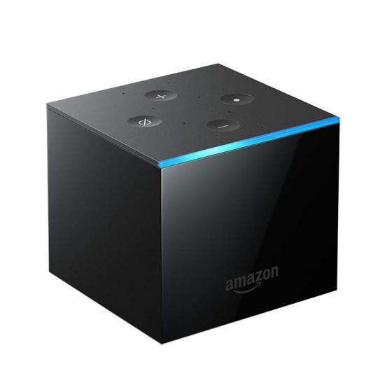Amazon Fire TV Cube hands-free with Alexa and 4K Ultra HD, streaming media player