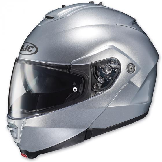 HJC IS-MAX Bluetooth Modular Helmet - Small/Silver