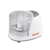 IMUSA GAU-80319W Mini Chopper 1.5-Cup, White