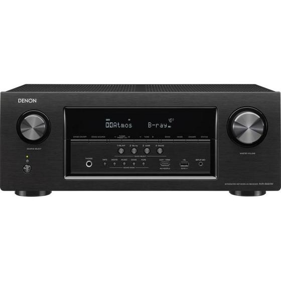 Denon AVR-S920W 7.2 Channel Full 4K Ultra HD AV Receiver with Bluetooth / WIFI and 2 HDMI Cables