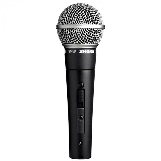Shure SM58S with On Off Switch