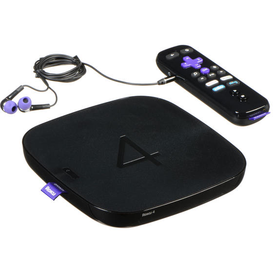 Roku 4 4400R (MAIN-08458) Streaming Media Player
