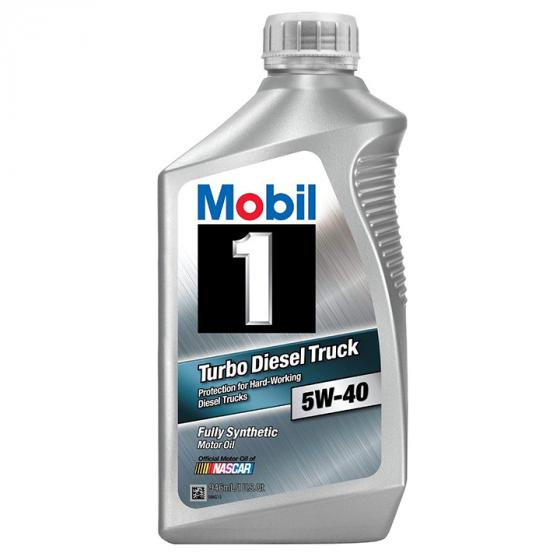 Mobil 1 Turbo Diesel Truck 5W-40 Synthetic Motor Oil