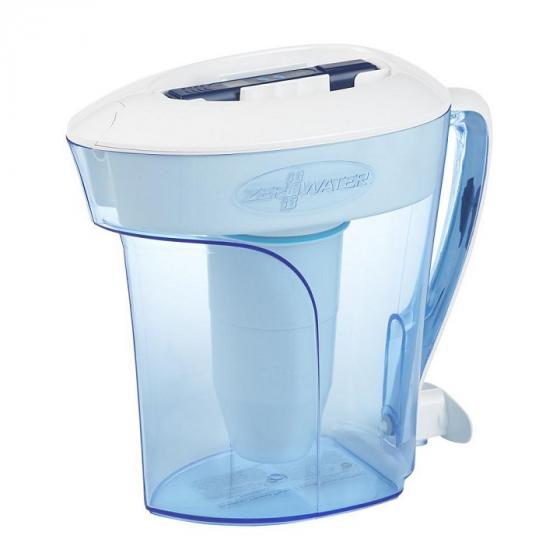 ZeroWater ZP-010 10 Cup Pitcher with Free TDS Meter