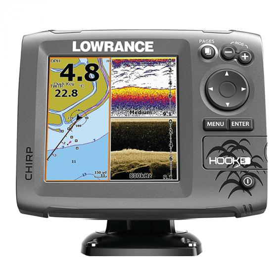 Lowrance Hook-5 vs Humminbird Helix 5 (410220-1)  Which is