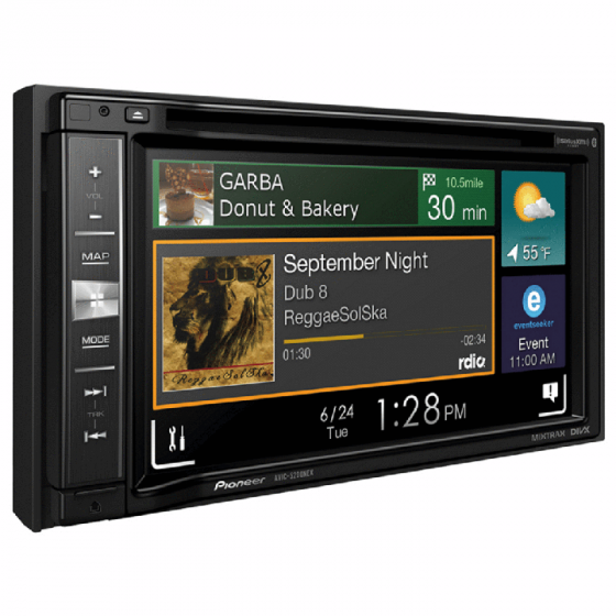 Pioneer AVIC-5200NEX Navigation Receiver with Carplay