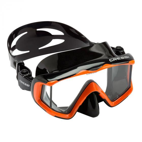 Cressi Pano 3 Large Wide View Mask for Scuba Diving & Snorkeling