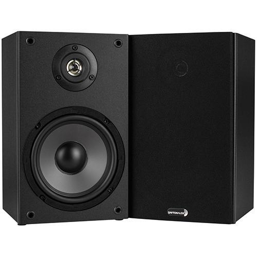 Dayton Audio B652 6 1 2 Inch Way Bookshelf Speaker Pair