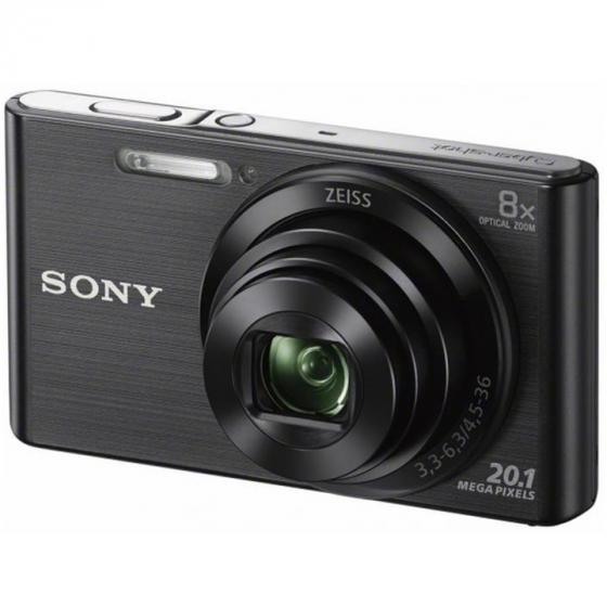 Sony Cyber-shot DSC-W830 Digital Camera with 2.7-Inch LCD (Black)