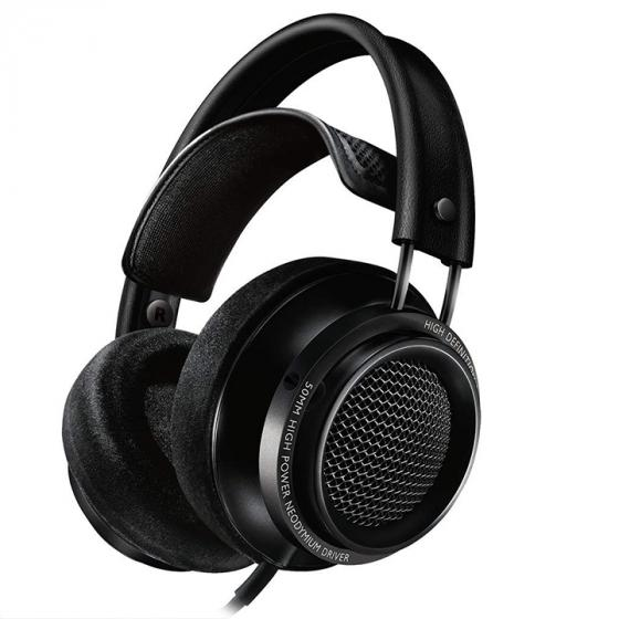 Philips X2 Fidelio Over Ear Headphone, Black