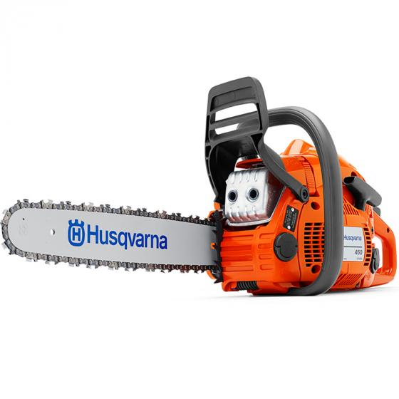 Husqvarna 450 Rancher Gas Powered Chain Saw with Duro Bar (967651201)