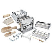 Imperia 501 La Fabbrica della Pasta Deluxe 11 Piece Set w Machine, Attachments, Recipes and Accessories